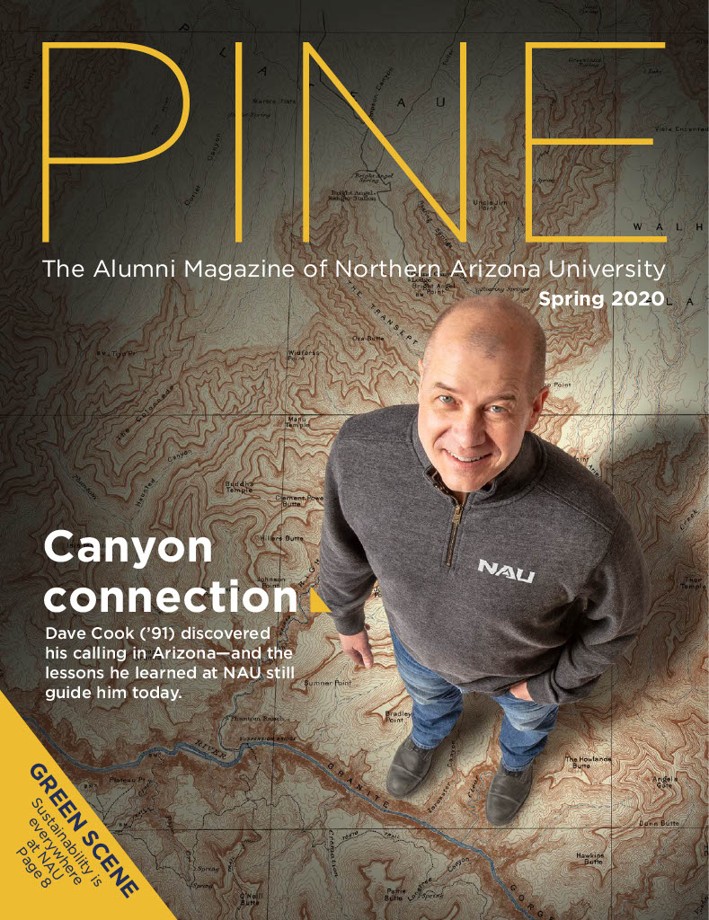 Cover of Pine Magazine Spring 2020